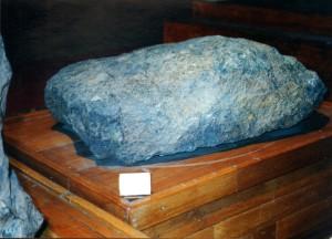 Метеорит Чебанкол. Фото А.Я.Скрипник.
